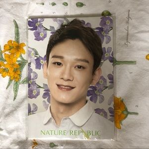 EXO Chen Nature Republic Unlined Notebook - NWOT